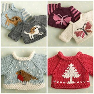 Please Choose from the Drop-down Menu Various Knitting Patterns Childs Sweaters