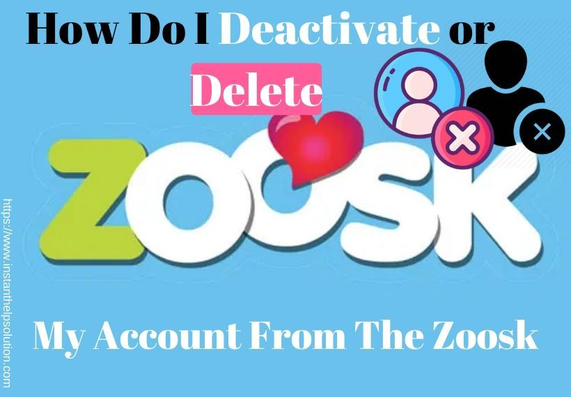 How to deactivateremove delete my account from the