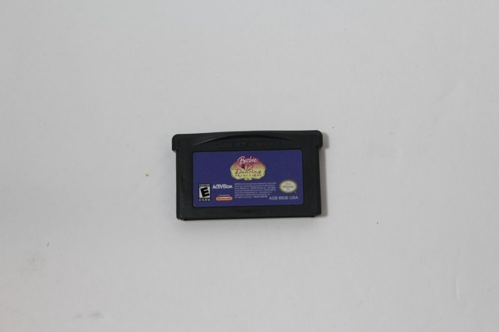 Barbie In The 12 Dancing Princesses Game Boy Advance Loose