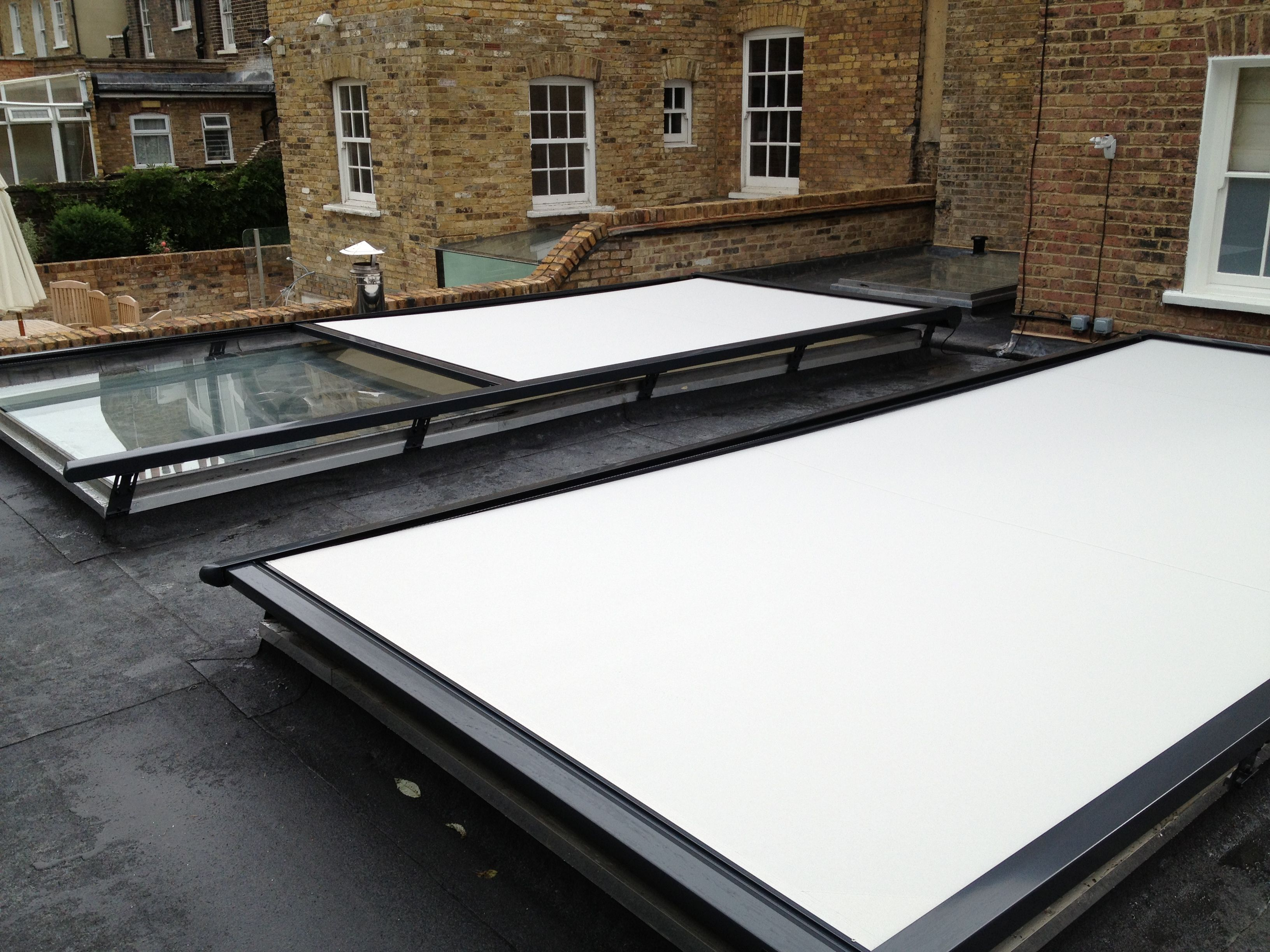 How Our External Roof Blinds Work Caribbean Blinds Skylight Blinds Conservatory Roof Blinds Roof Light