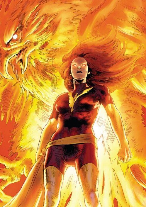 Girls Wallpaper Pack Jean Grey Dark Phoenix And Phoenix Force Portfolio