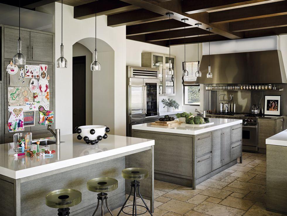 La #cocina de Kourtney Kardashian en California # ...