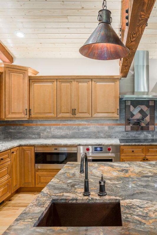 Home Cabinet Westbury CO66 Style Cinnamon Glazed Maple ...