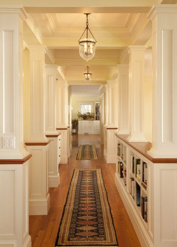 Traditional Home Half Wall Design, Pictures, Remodel, Decor and ...