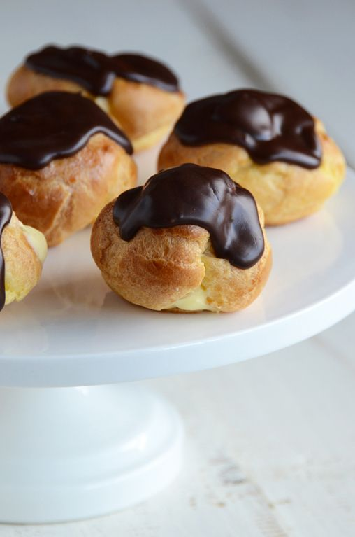 I've been looking for an easy profiterole recipe; this looks like a contender!