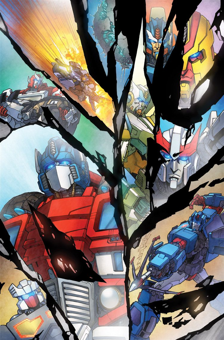 IDW Transformers: More Than Meets The Eye#9