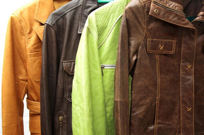 Nettoyage veste cuir daim