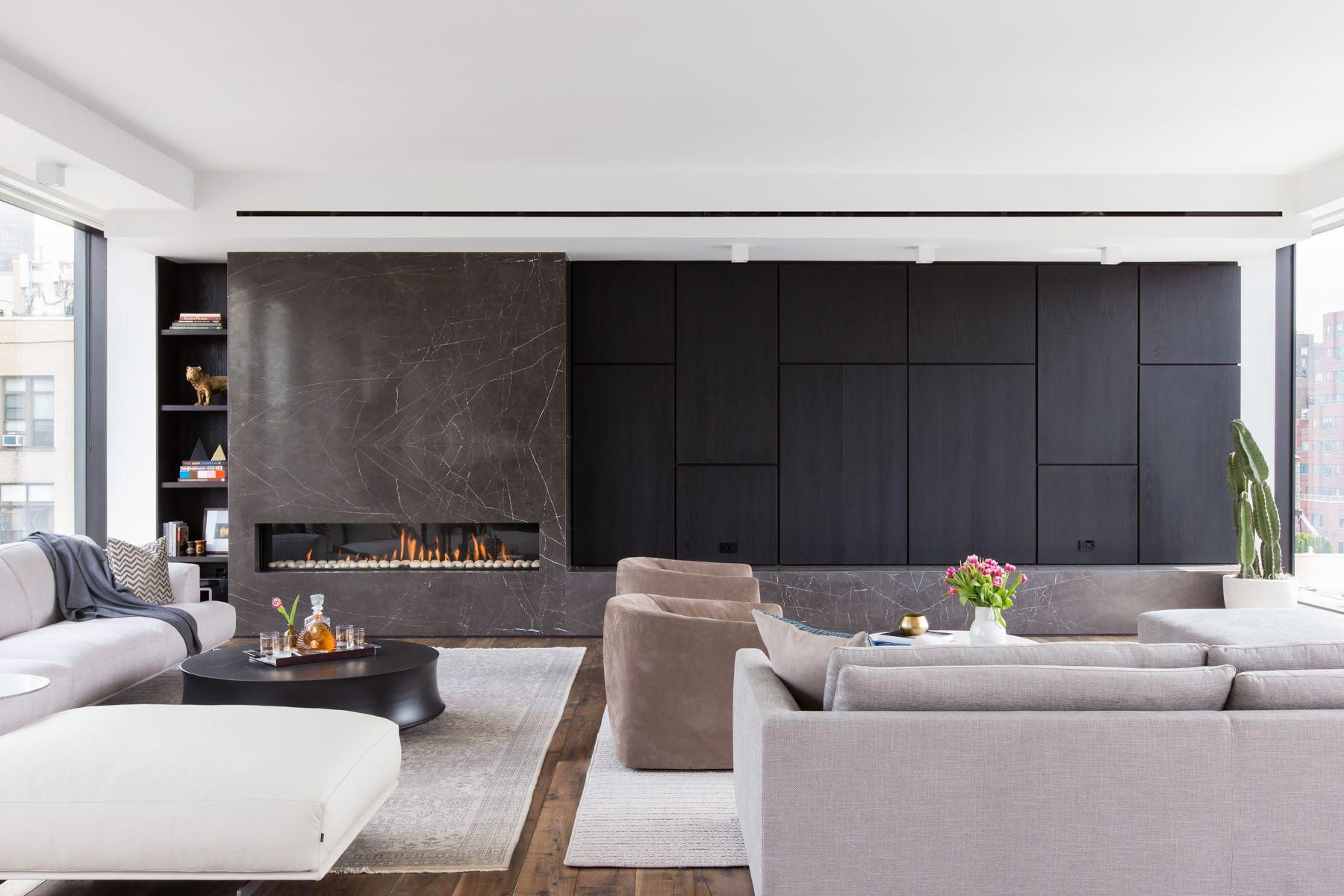 Chelsea Penthouse Modern Living Room Minimalist Living Room