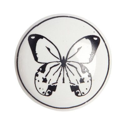 Rockett St George butterfly knob | Butterfly door knobs | Pinterest ...