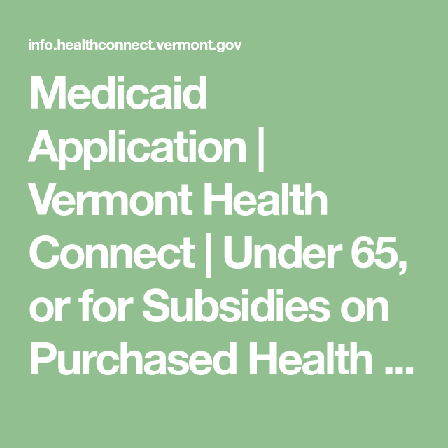 Insurance Health Vermont