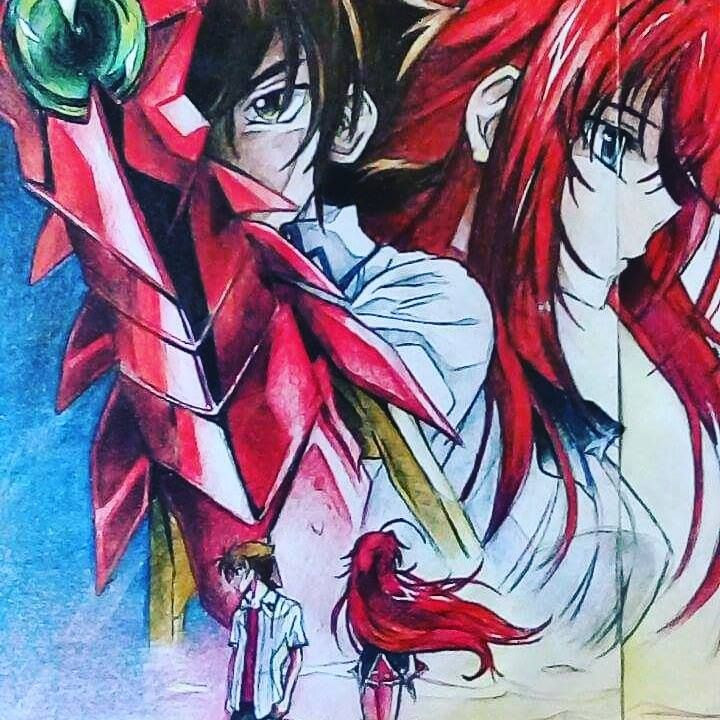 Highschool Dxd Issei And Rias