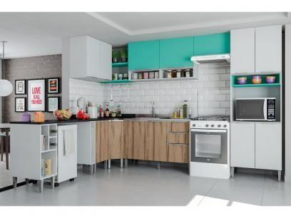Cozinha Completa Aroma 10 Peças - Líder Casa com as melhores condições você encontra no Magazine Tonyroma. Confira!