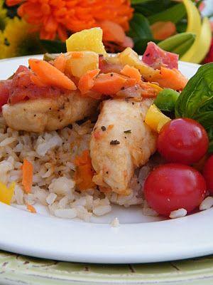 What's Marinating?: Chicken Cacciatore gluten-free