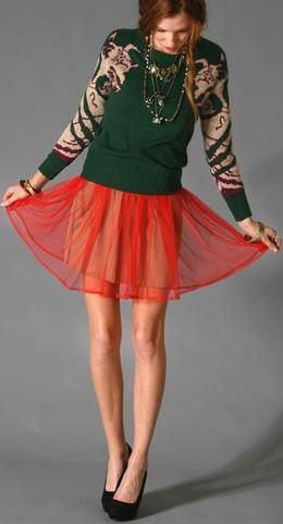 Sweater & Dress, Like?