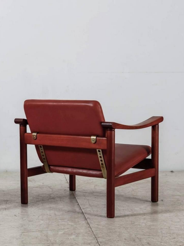 Hans Wegner; Lounge Chair for Getama, 1950s.