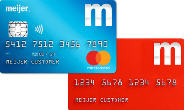 Meijer Credit Card Application Bill Payment