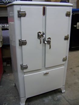 1930 ice box Vintage refrigerator, Vintage fridge