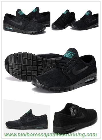 separation shoes 1f9d9 54b65 Shoes Sneakers. Preto Nike SB Stefan Janoski Max 631303-003 Stefan Janoski  Max Black, Adidas Running
