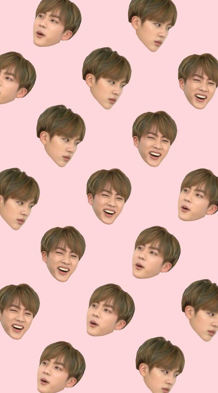Jin iphone wallpaper tumblr - Bts Weekly Idol Jin Derp Face Wallpaper