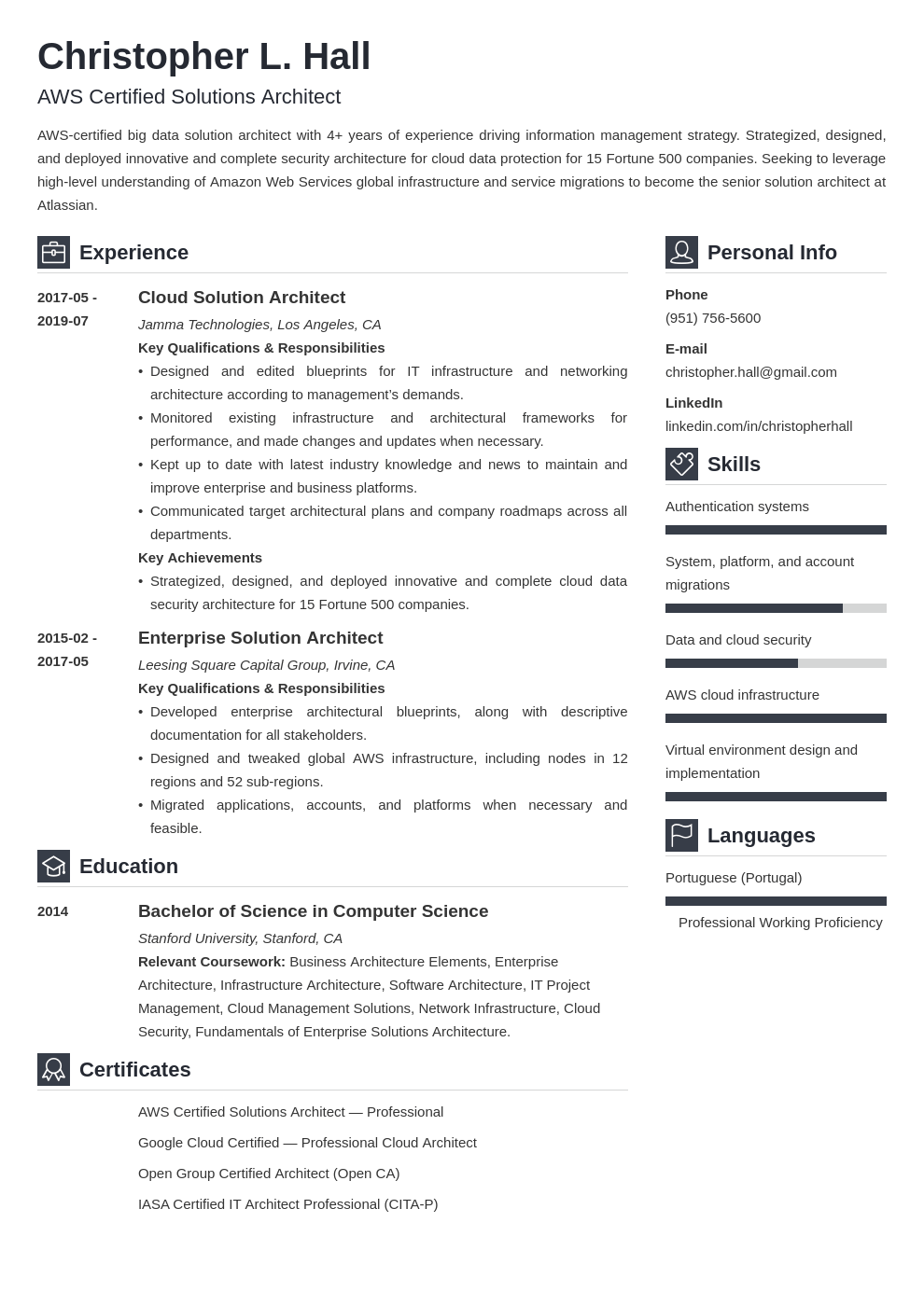 Solution Architect Resume Example Template Vibes Architect Resume Resume Examples Resume Template