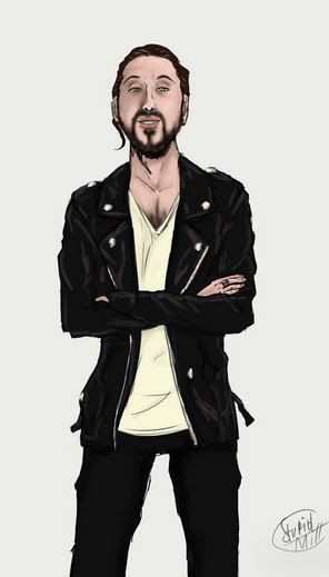Avi Kaplan artwork by Stupid-mill on DeviantArt