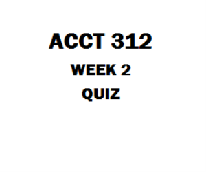 Acct  Week  Quiz  Tco  Which Causes A Temporary Difference