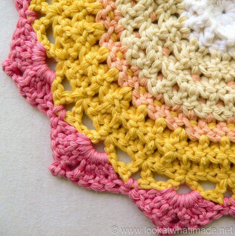 Protea Mandala 8 King Protea Mandala {Another Crochet Mandala ...