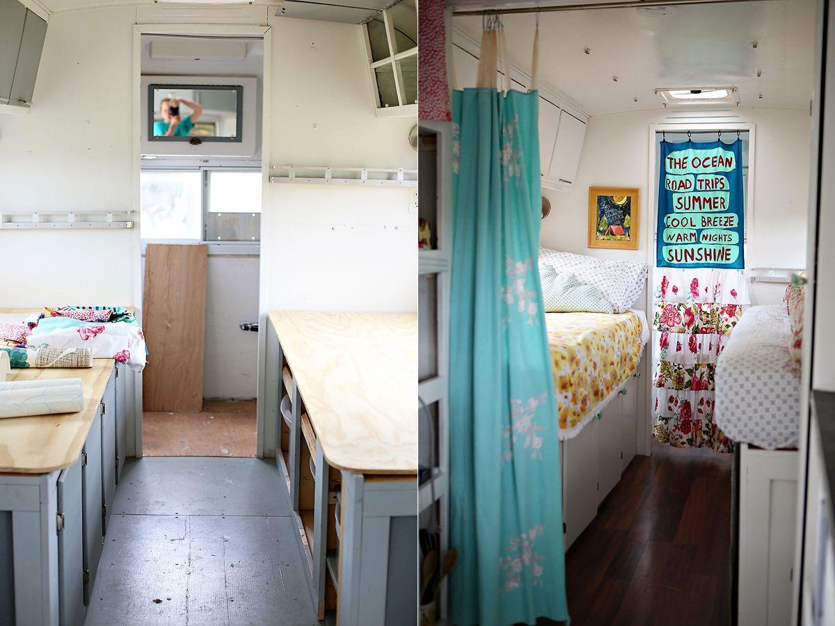Vintage Camper Remodel Envy | Camper renovation and Airstream