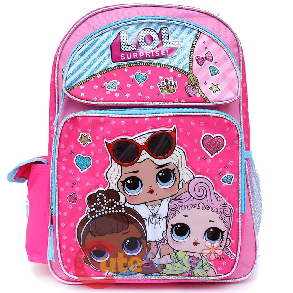 b7054f585b Lol Surprise Large School Backpack 16