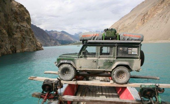 Foto Viaggio Pakistan Land Rover Defender Land Rovers Viaggi