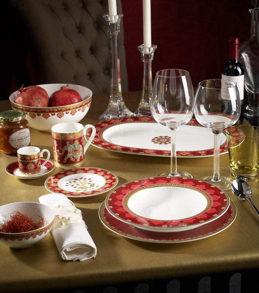 Brands villeroy boch in 10 frames samarkand rubin for Villeroy and boch christmas
