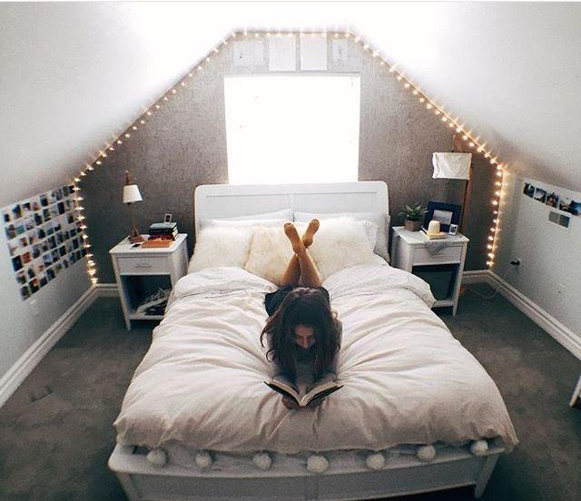 Charmant Dachgeschoss Schlafzimmer, Wohnideen Schlafzimmer, Dachboden,  Dachgeschosse, Schlafzimmer Einrichtung, Himmelbett, Das Zuhause, Ideen  Fürs Zimmer, ...