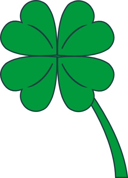 four leaf clover clipart clip art pin tattoos pinterest leaf rh pinterest com four leaf clover clip art black and white four leaf clover clip art solitaire