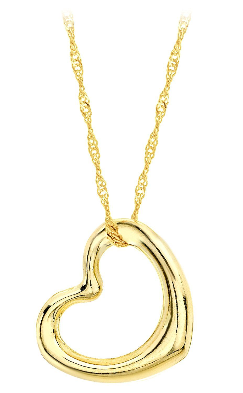 Carissima Gold Women's 9 ct White Gold Twisted Curb Chain fZk2SBUG