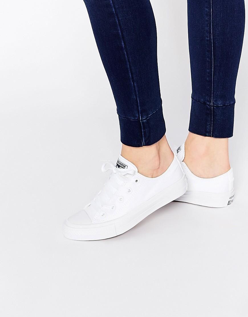 Converse Converse Chuck Taylor Ii White Ox Trainers At