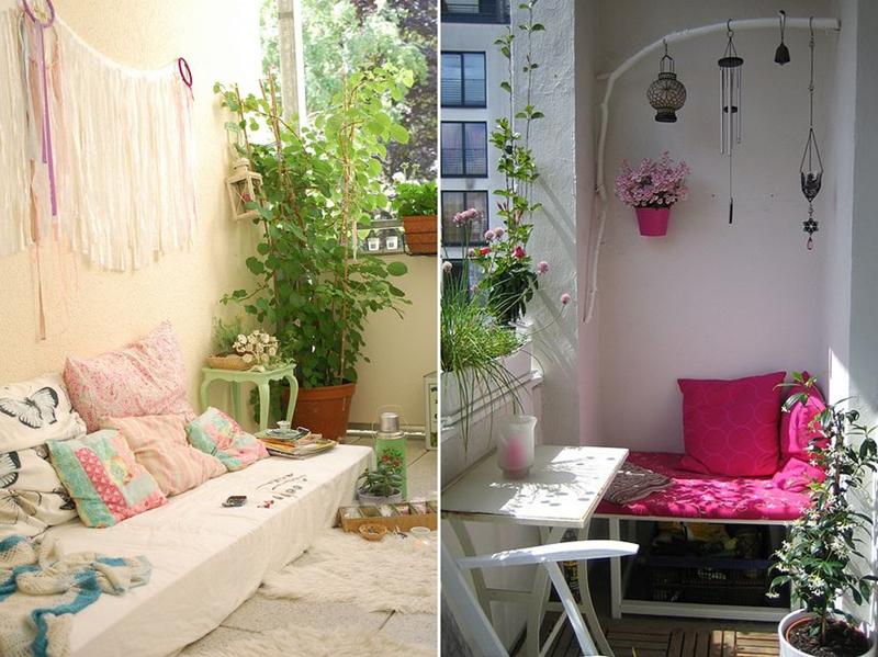 Arredare un terrazzo molto piccolo | Deco hogar | Pinterest | Deck ...