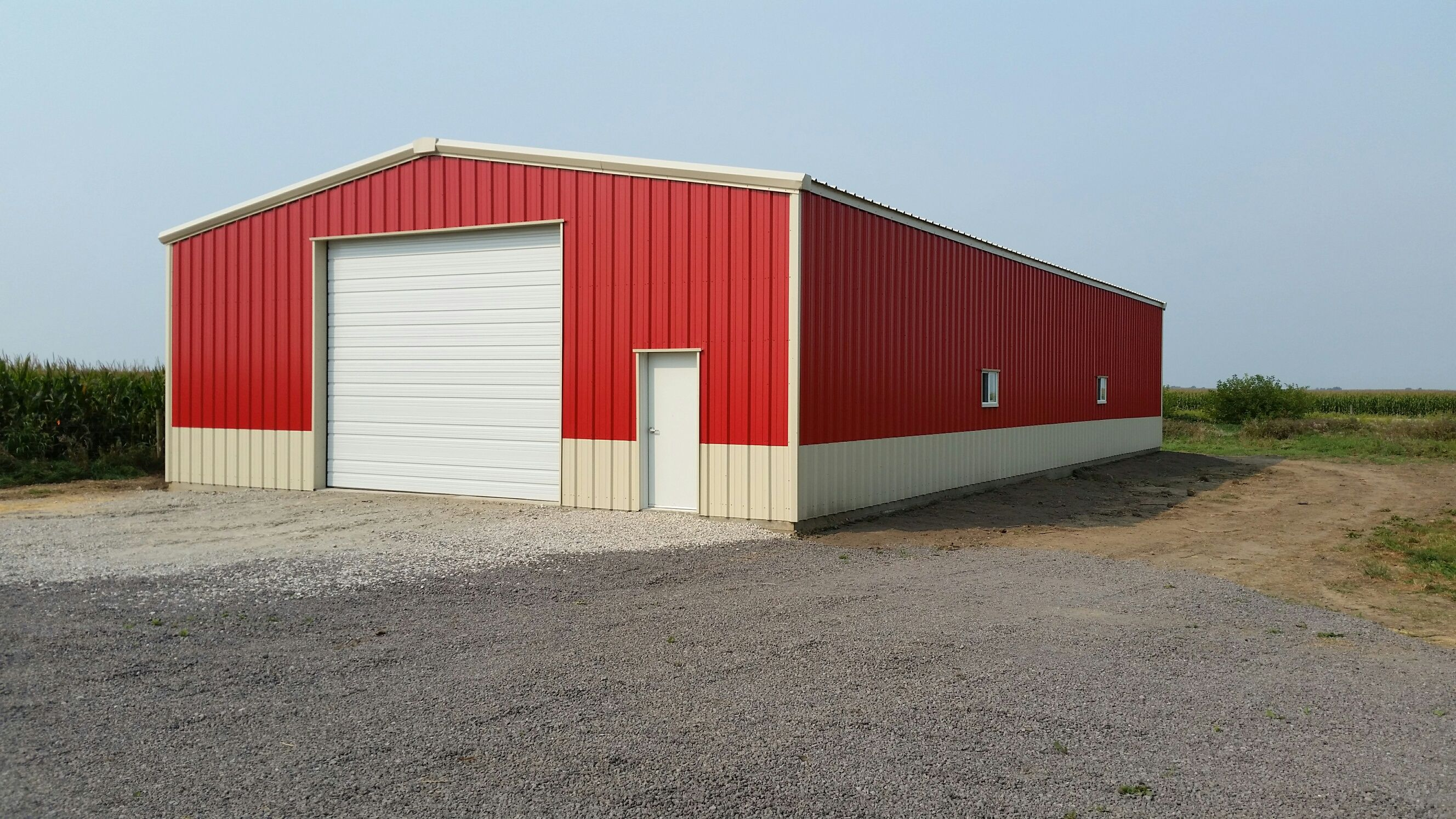 Garage Panel Colors shopbuilding garages diy 1800292