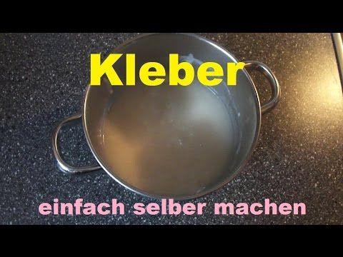 Bastelkleber Selbst Herstellen : pin von marianne streitwieser auf videos bastelkleber ~ Watch28wear.com Haus und Dekorationen