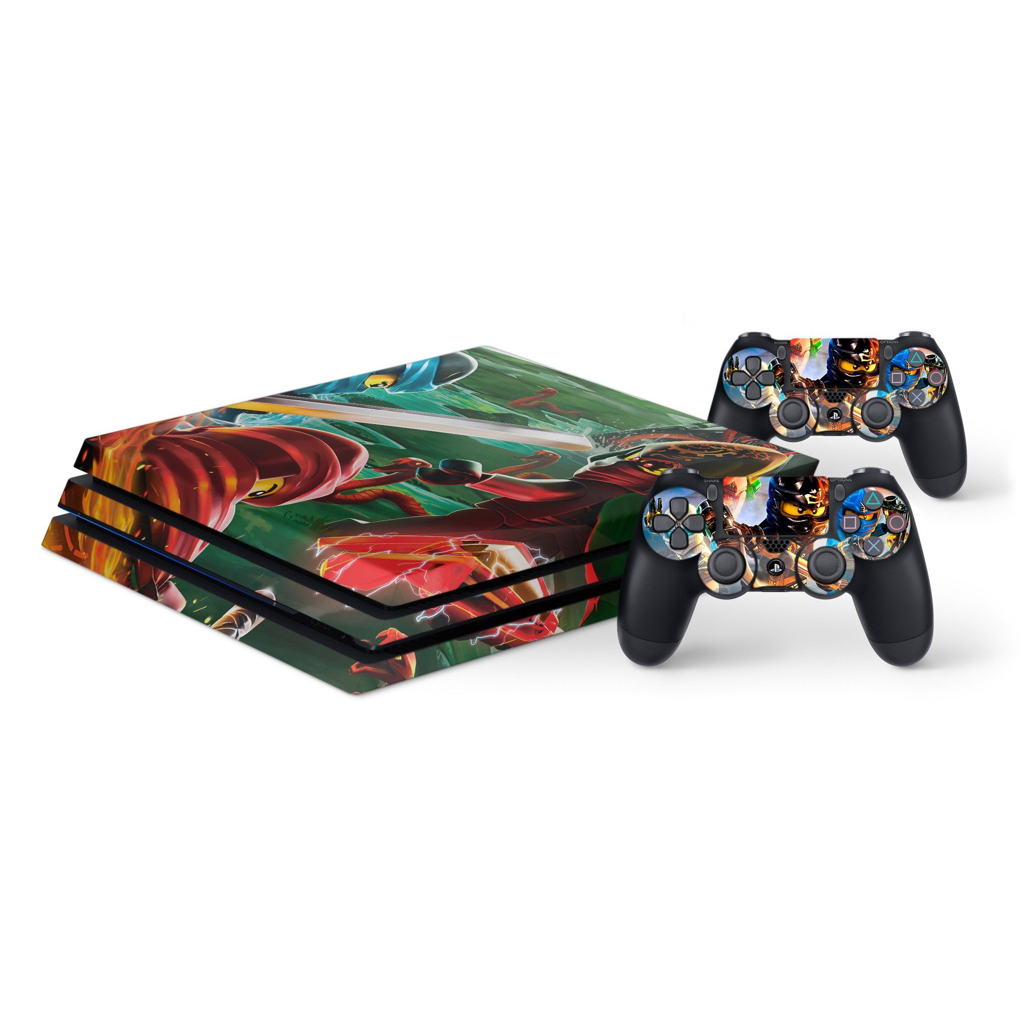 MagicSkin Skin Sticker Wrap Cover Vinyl Decal for Playstation PS4 Pro Console and Controllers