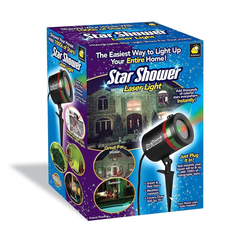 Christmas Laser Light Star Projector Product Description Shower