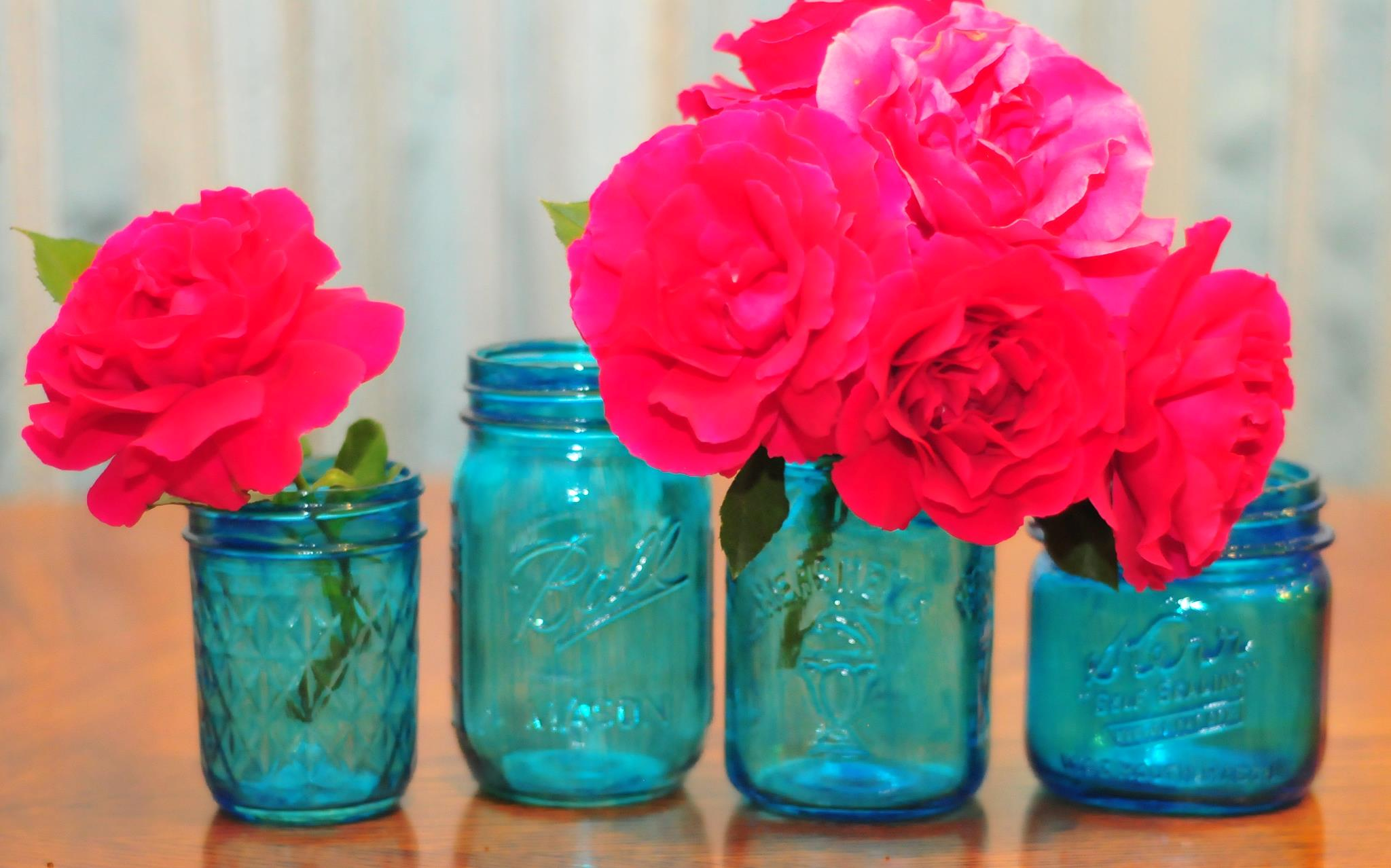 Coffee Filter flowers - Yes! In Mason Jars! DIY on The Life of a ...