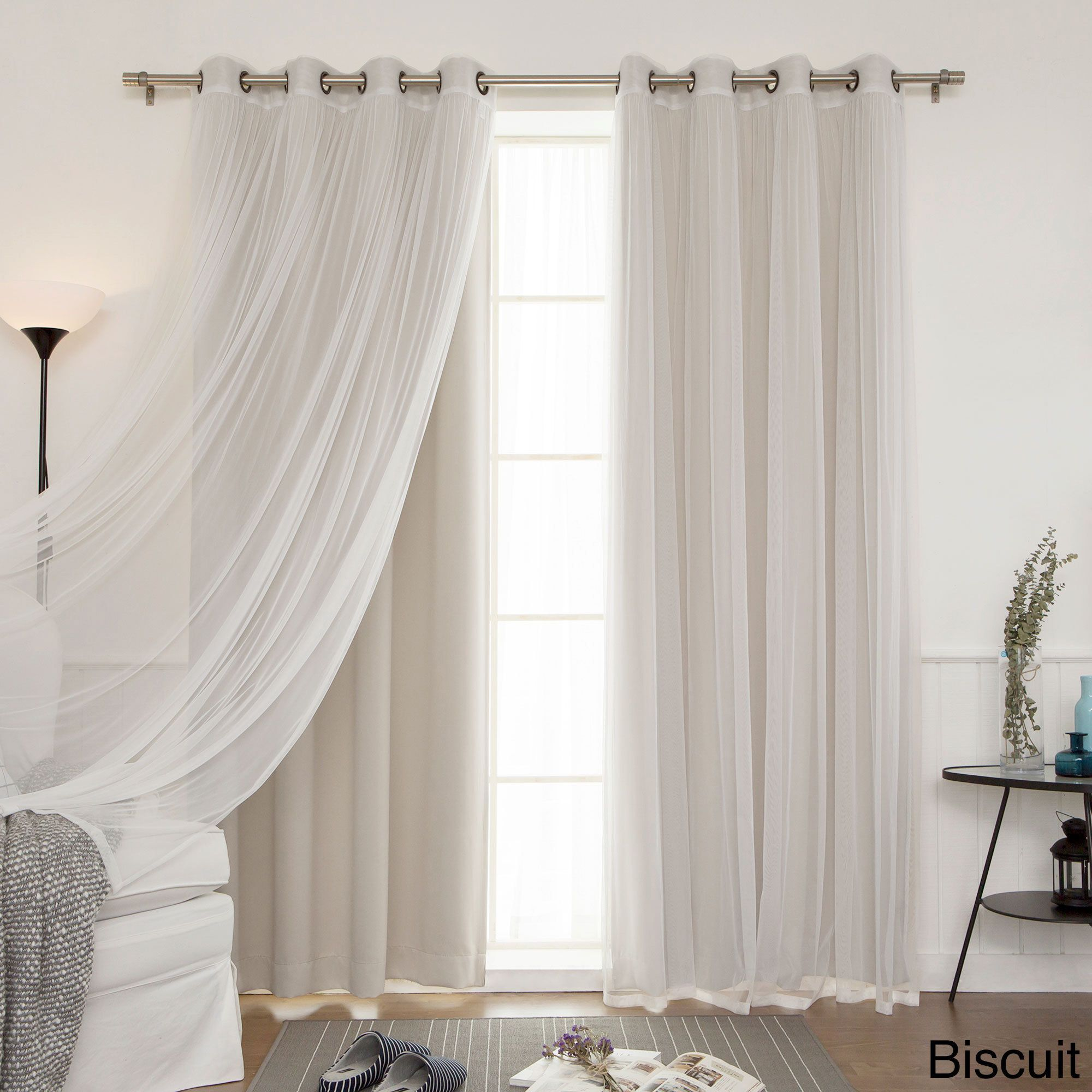 Aurora Home Mix and Match Blackout Blackout Curtains Panel