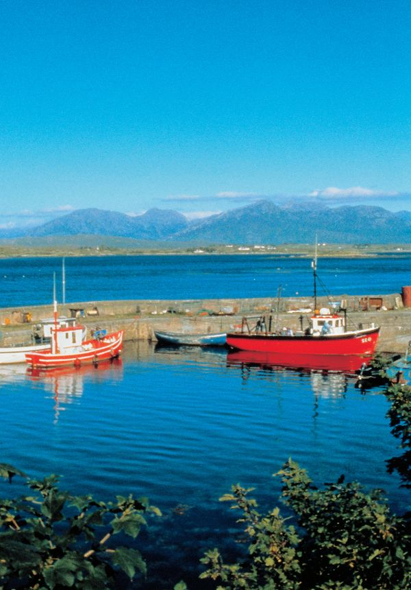 Roundstone in County Galway is a beautiful fishing village and just one of the many charms of this beautiful county! http://www.tourireland.com/blog/?article=53