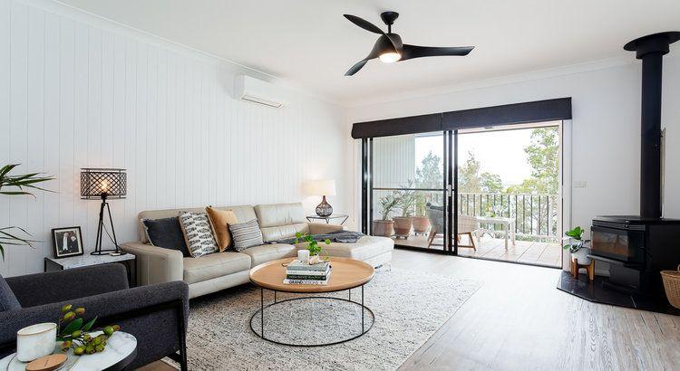 Contemporary Coastal Living Room Design Interior Design