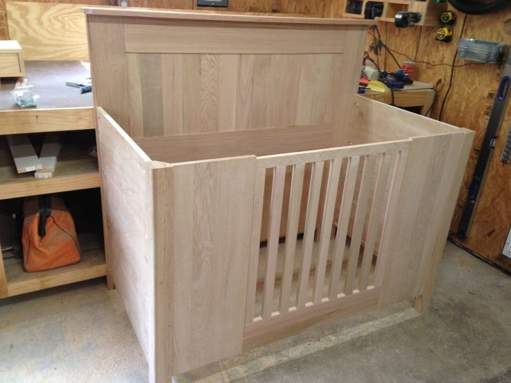 Custom Baby Bed (Unfinished) From KregJig.ning.com