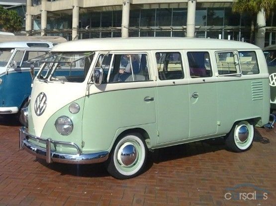 NEW Retro vw Volkswagen Type 1 T1 Samba bus camper touring car model
