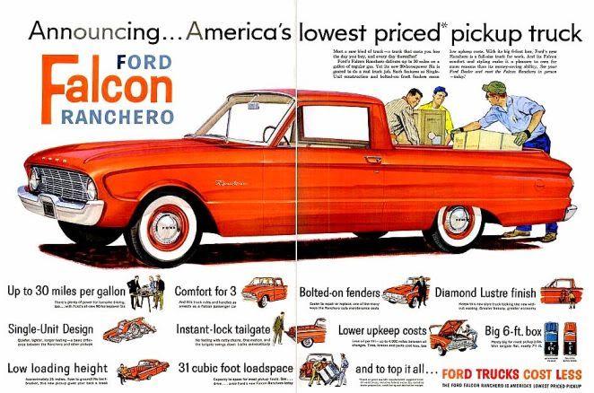 Ford Falcon Ranchero 1960 Mike S Pinterest
