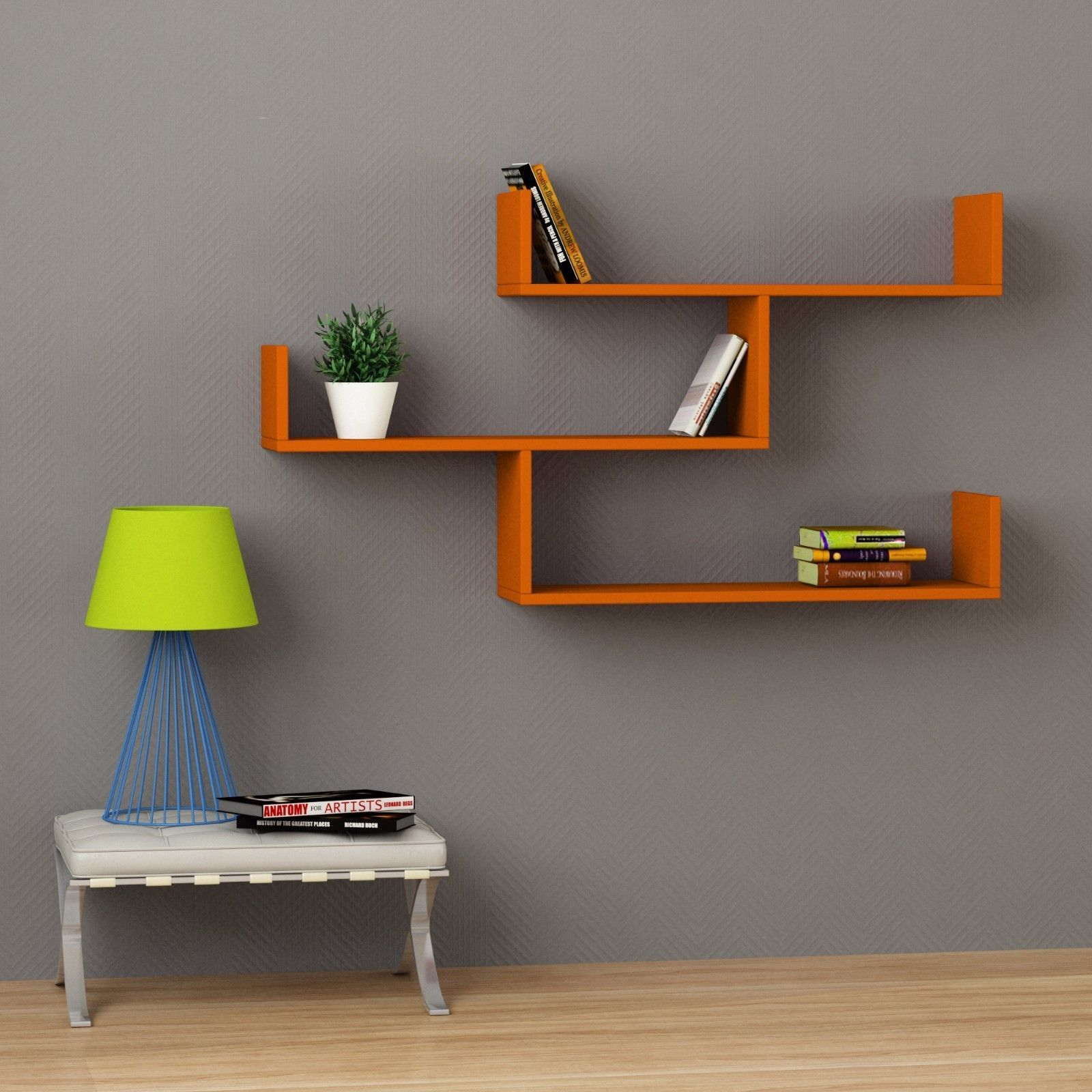 Unique Wall Shelf Tibet Contemporary Modern Design Unique Wall Shelf By