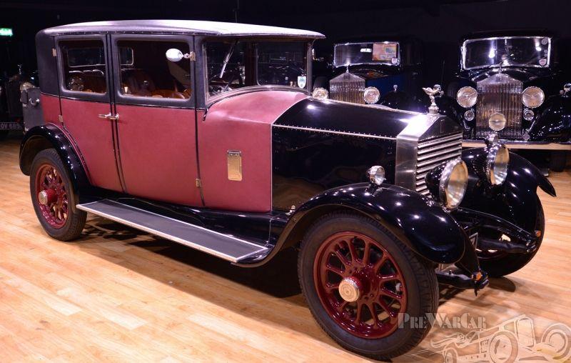 1928 Rolls-Royce 20hp Gurney Nutting Weyman