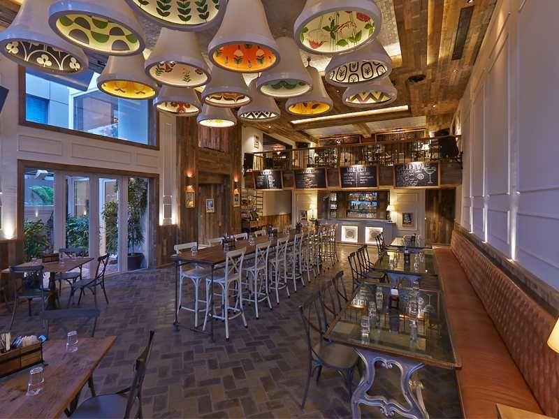 The Black Rabbit Beer Bar Interior In Bangalore Design